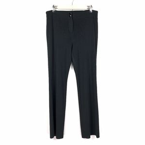 Exclusively Misook Straight Leg Knit Pants Stretch